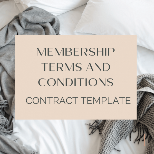 Featured image for membership course terms and conditions; what you need to create a membership
